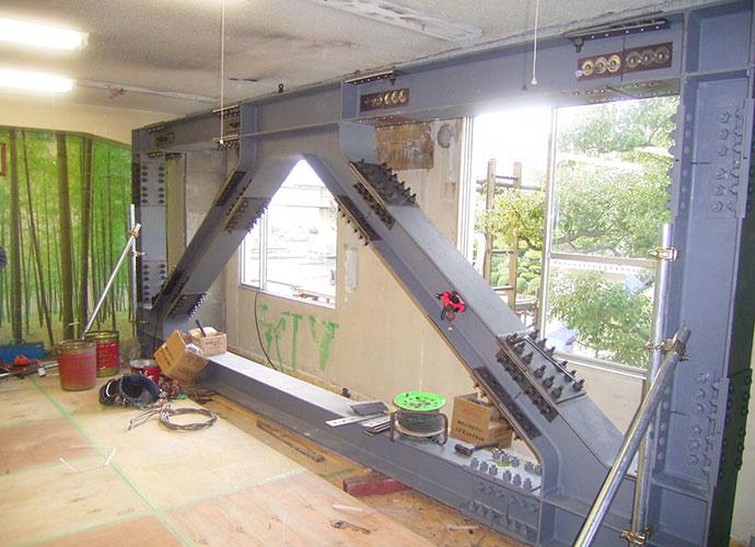K工場事務所棟耐震補強設計